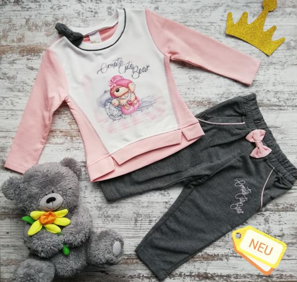 Baby Mädchen Sweatshirt und Hose aus Jersey